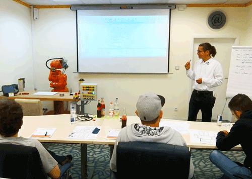 Roboter Schulungszentrum