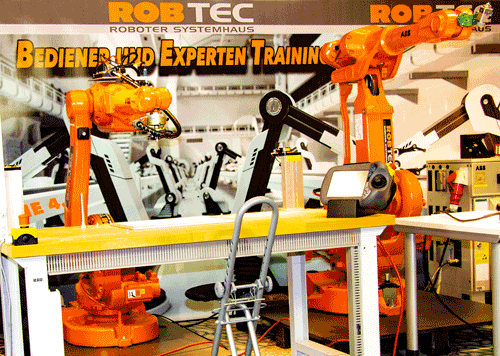 Roboter für Lehrgang