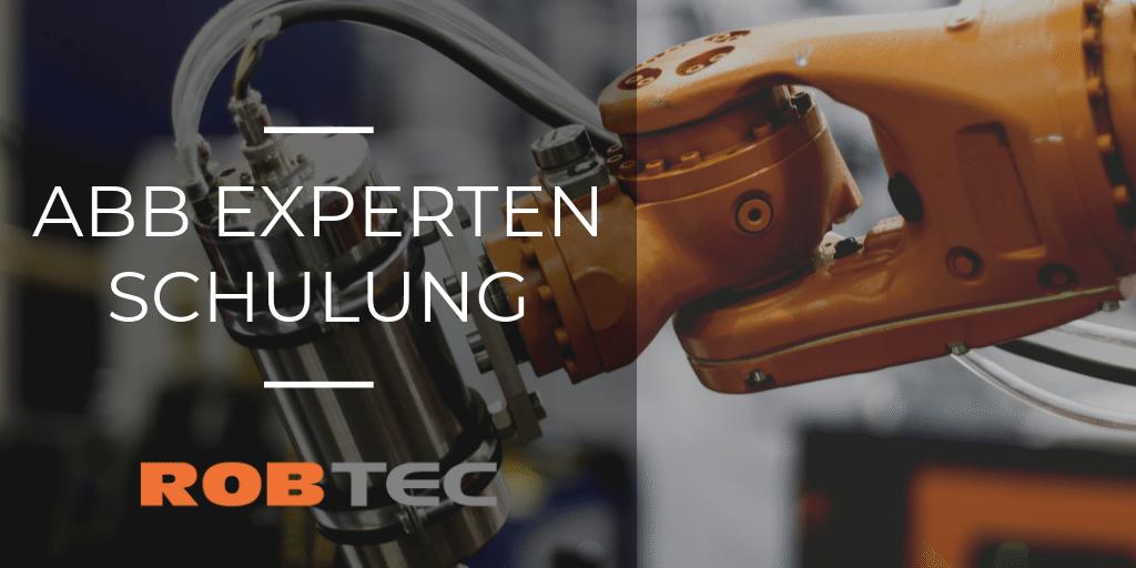 ABB Experten Roboter Schulung